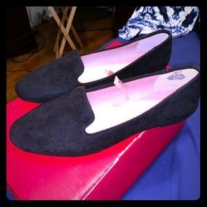 NWOT H & M Loafer black flat sz 7